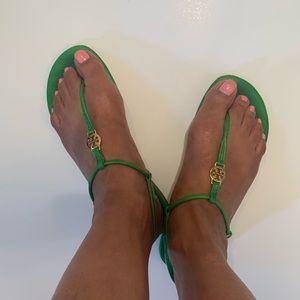 Tory Burch Green Sandal Sz8